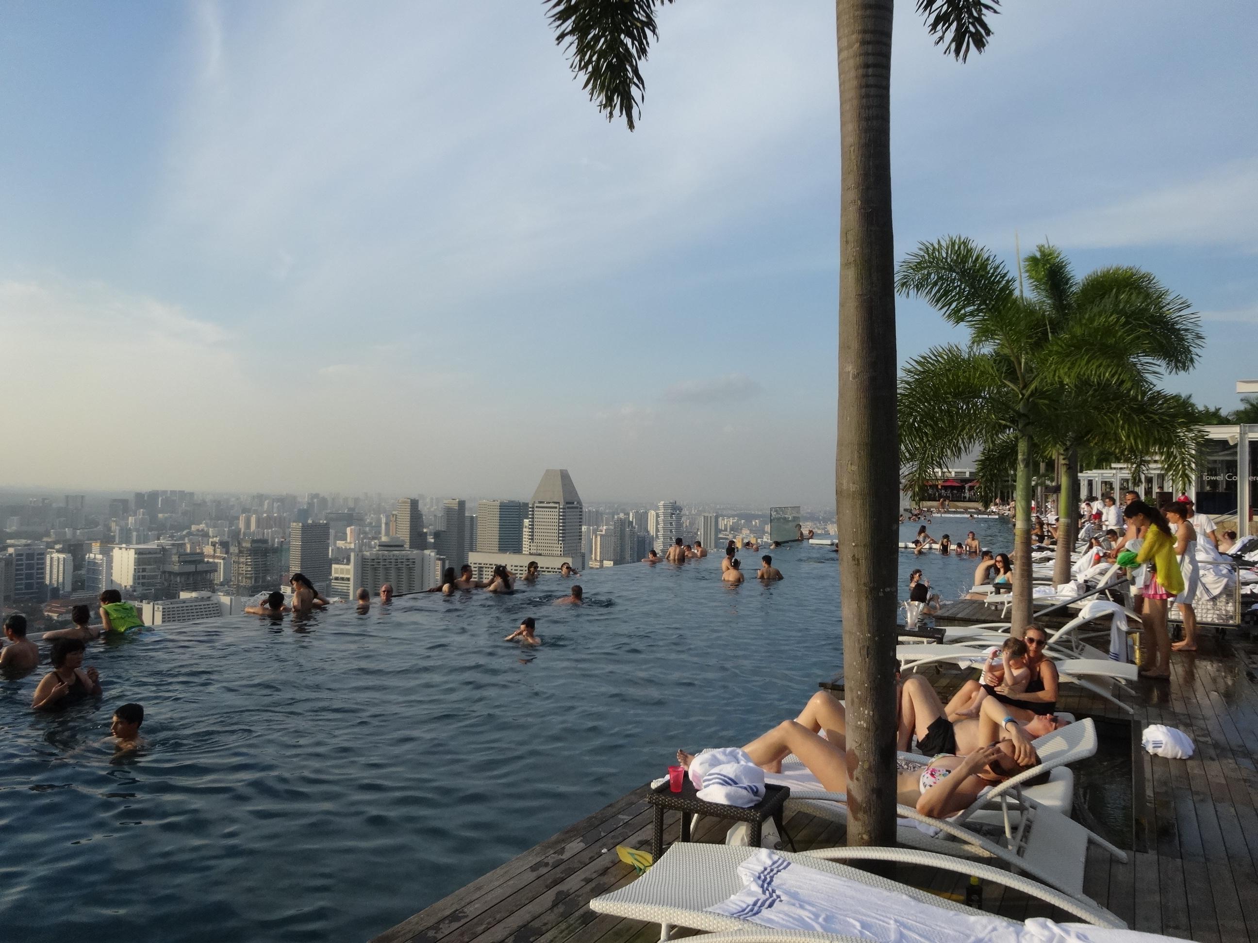 Marina bay sands pr ximos destinos - Ingresso piscina marina bay sands ...